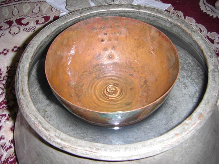Древние персидские водяные часы