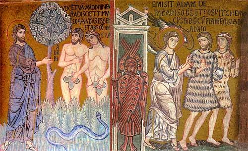 Византийская мозаика. Палатинская капелла, Палермо. XII в.