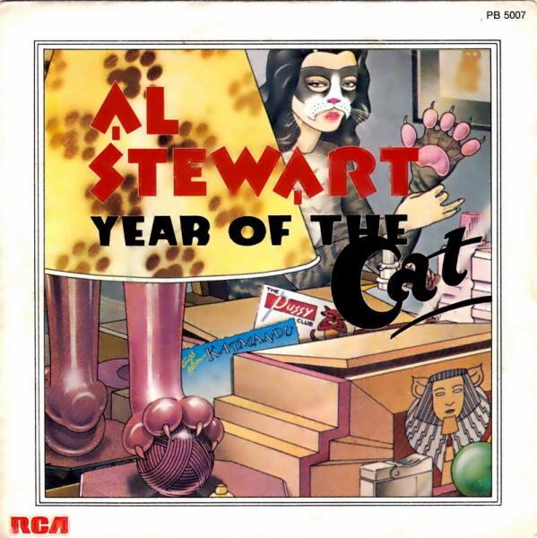Как Эл Стюарт хотел спеть про комика-самоубийцу, а в итоге спел про Год Кота?