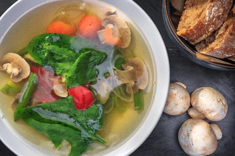 По четвергам и вторникам разрешено употребление горячих блюд, не сдобренных растительным маслом
