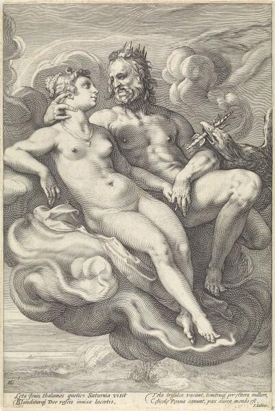 Юпитер и Юнона. Юнона была сестрой и супругой Юпитера