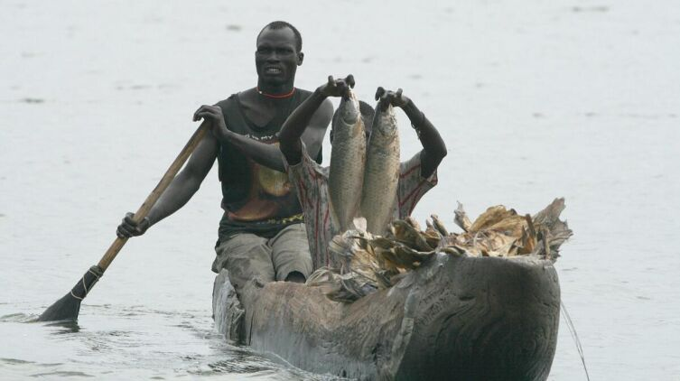 Рыбалка на болоте Судд