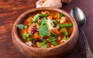 Какой суп едят в Италии и во Франции?
