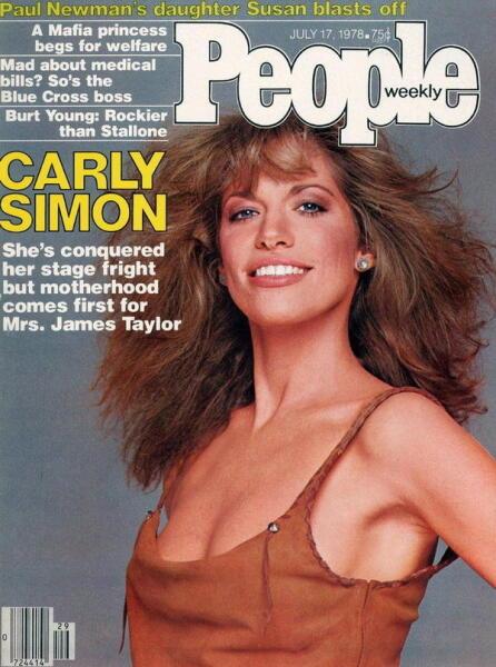 Как Карли Саймон играла в угадайку и воспевала достоинства Джеймса Бонда?
