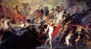 Совет богов. О чем и с кем советовался Зевс?