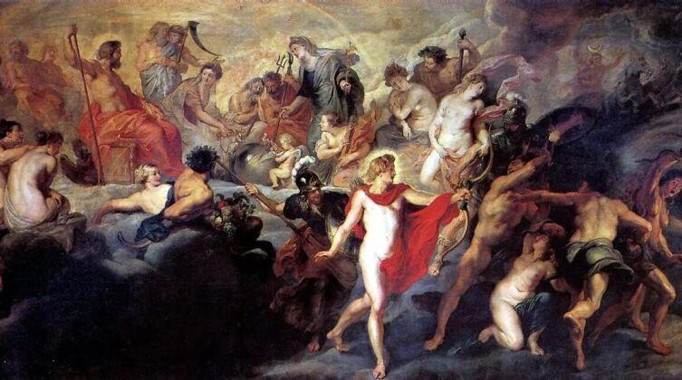 Питер Пауль Рубенс, «Совет богов», 1625 г.