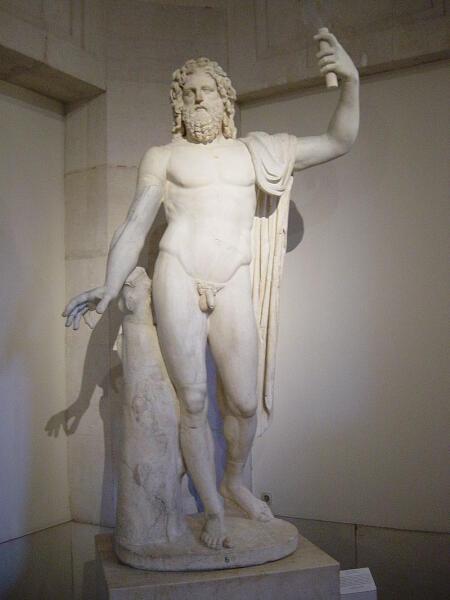 Статуя Юпитера Тонанса. Национальный музей Прадо, IV в н. э.
