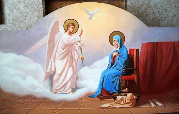 Благая весть. Православная открытка