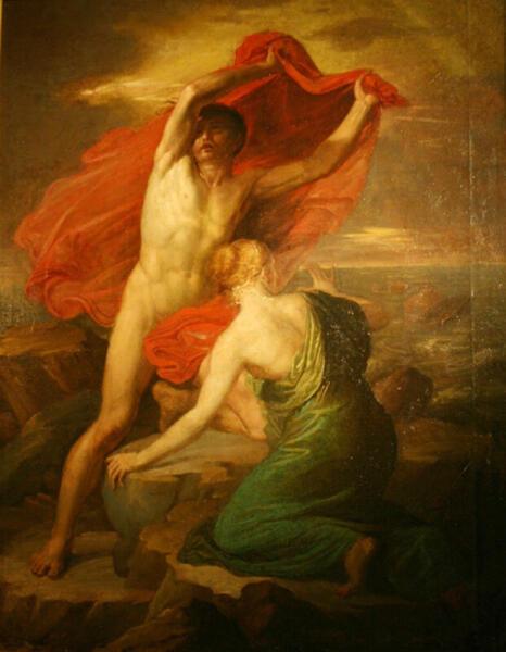 Викентий Бриоски, «Девкалион и Пирра», 1813 г.