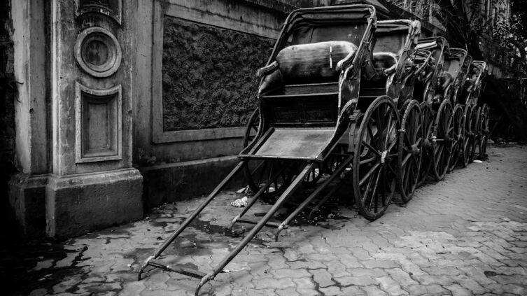 Вы когда-нибудь ездили на настоящем рикше?