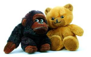 Маленькая плюшевая обезьянка, или Где живет счастье?
