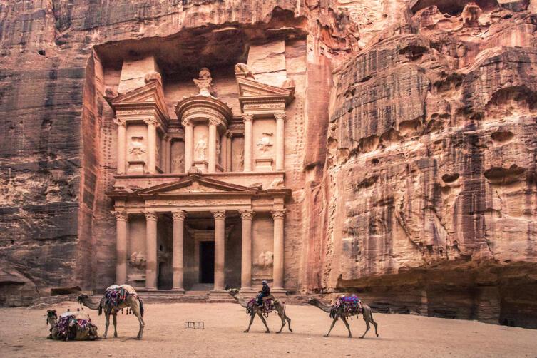 Города Петра в Иордании