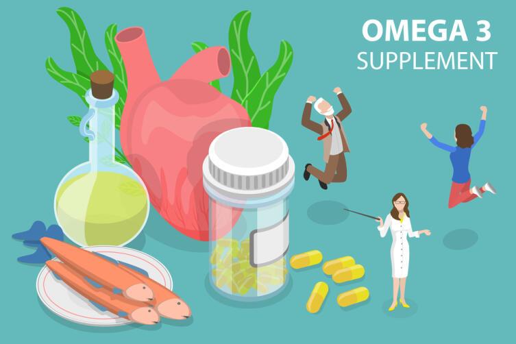 Организм не может синтезировать эти кислоты самостоятельно, поэтому рыбий жир необходим