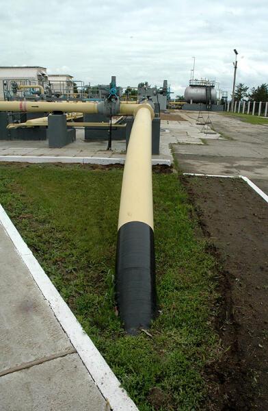 На насосной станции № 1 аммиакопровода Тольятти — Одесса