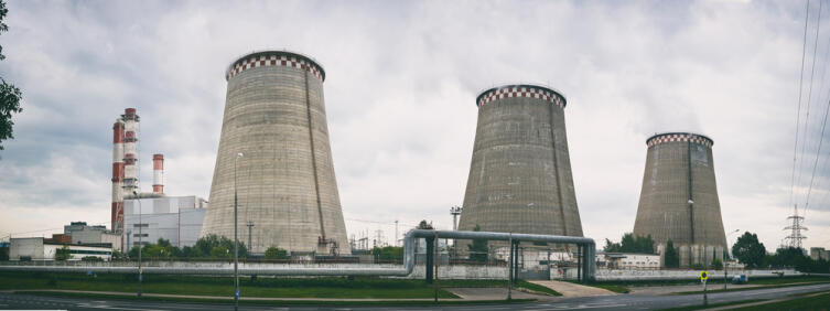 Энергетическая компания Мосэнерго. CHP 21. Москва