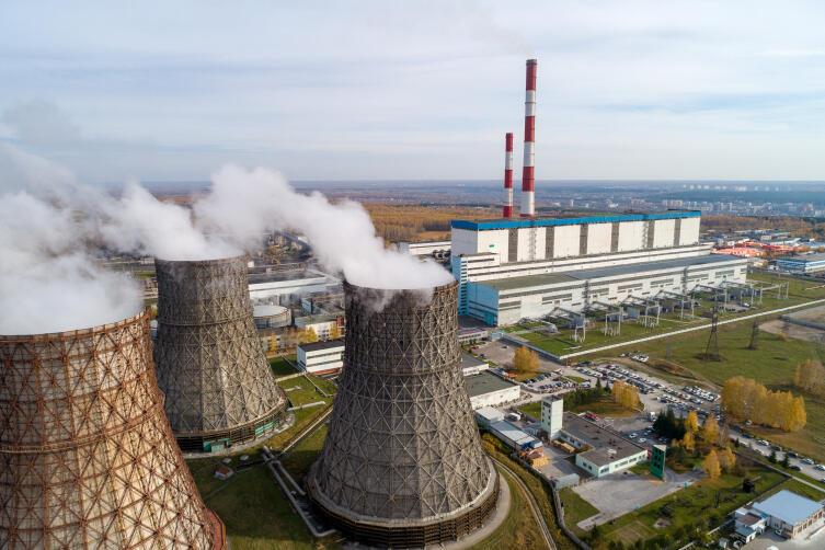 ТЭЦ-5 в Новосибирске