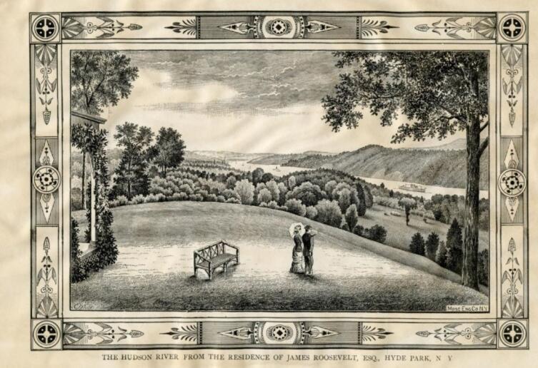 Резиденция семьи Рузвельт в Гайд-парке