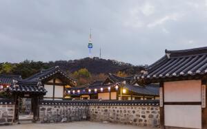 Путешествие в Южную Корею. Что можно увидеть в корейской традиционной деревне Намсанголь Ханок?