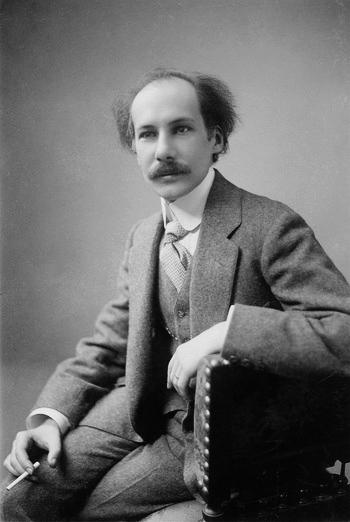 Андрей Белый. Брюссель, 1912 г.