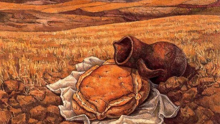 Хосе Вела Дзанетти, «Хлеб и кувшин»