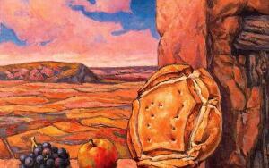 Как в деревне хлеб на стол приходил?