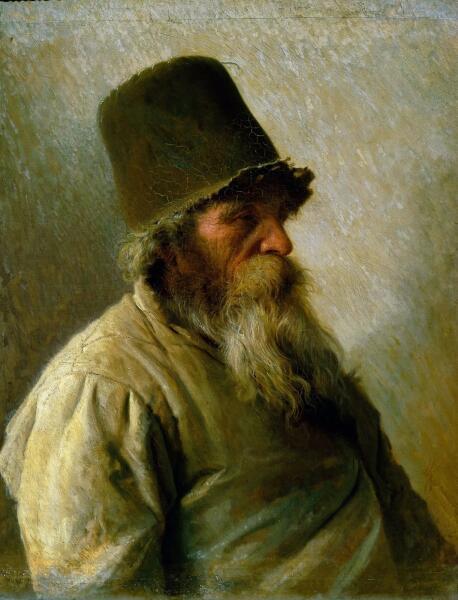 И. Н. Крамской, «Мельник», 1873 г.