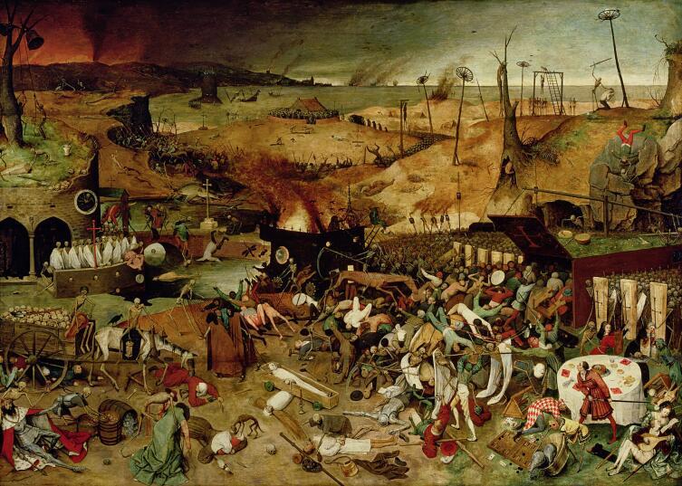 Питер Брейгель Старший, «Триумф смерти», 1561 - 1563 гг.