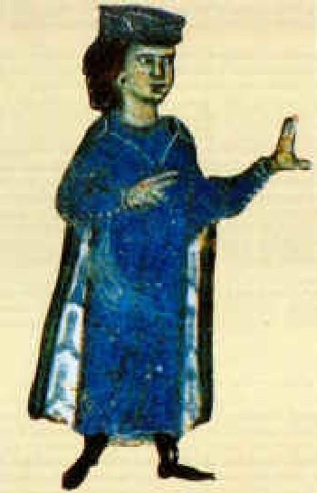 Гильом, герцог Аквитании и трубадур. Национальная библиотека Франции