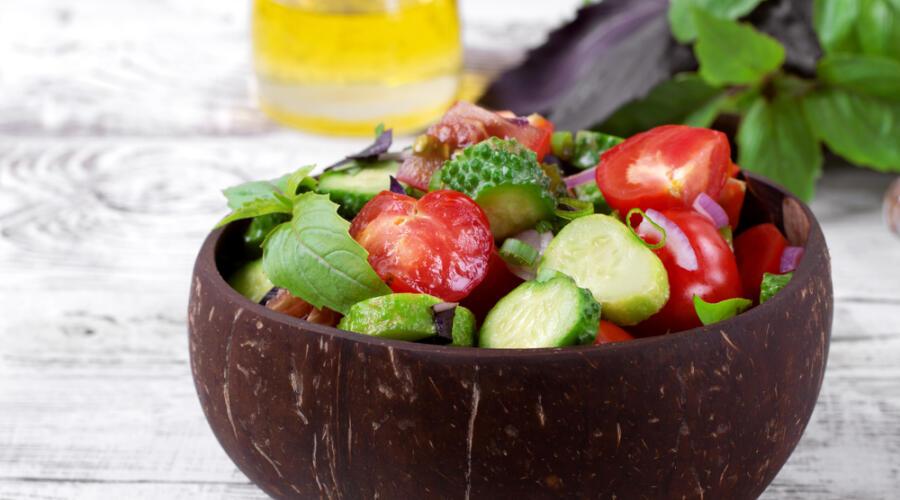 Какой салат приготовить тому, кто постится?