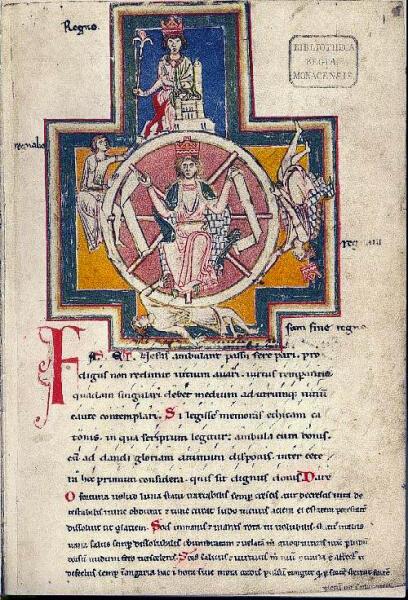 Оригинал текста «Колесо фортуны» из сборника «Кармина бурана»