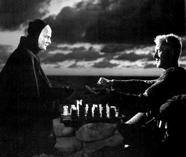 Кадр из к/ф «Седьмая печать», 1957 г.
