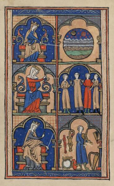 Главный источник музыки школы Нотр-Дам — «Большая книга органума» (Magnus liber organi)