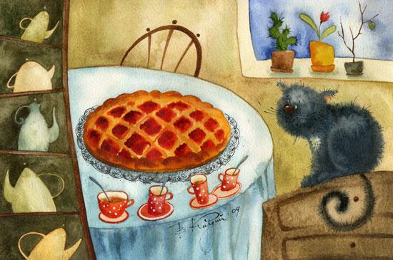 Виктория Кирдий, «Малиновый пирог», 2009 г.