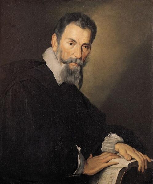 Бернардо Строцци, «Портрет Монтеверди», 1640 г.