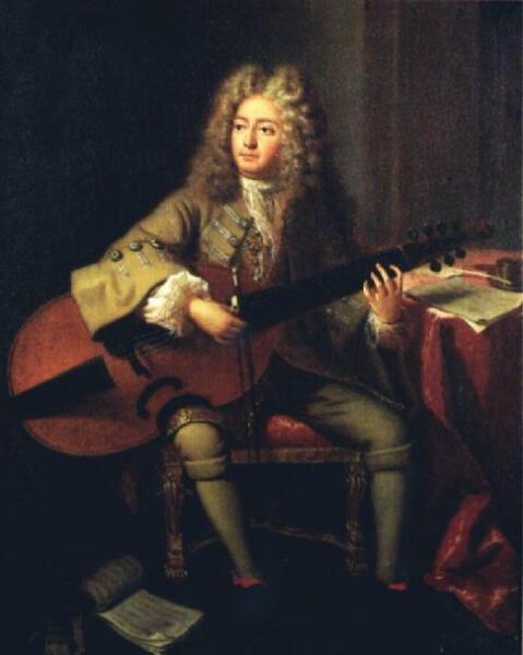 Андре Буйс, «Портрет Марена Маре», 1704 г.