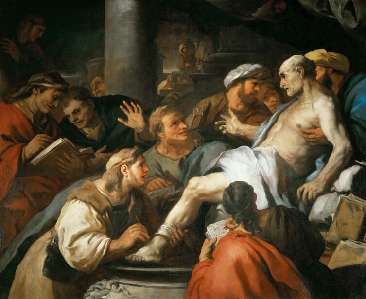Лука Джордано, «Смерть Сенеки», 1685 г.