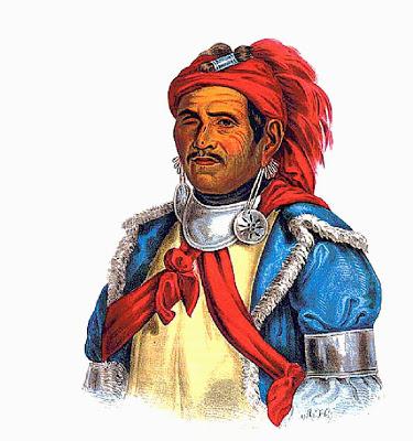 Тенскватава, пророк, духовный лидер и воин