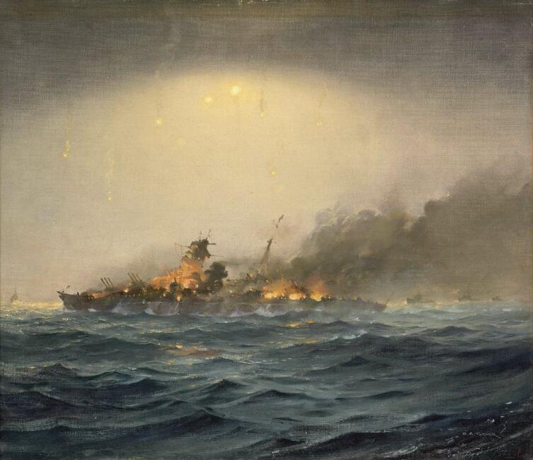 Чарльз Тёрнер, «Гибель «Шарнхорста», 26 декабря 1943 года»