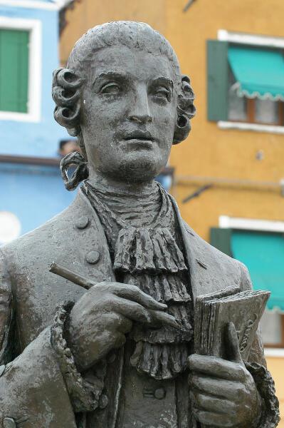 Памятник Галуппи в Бурано