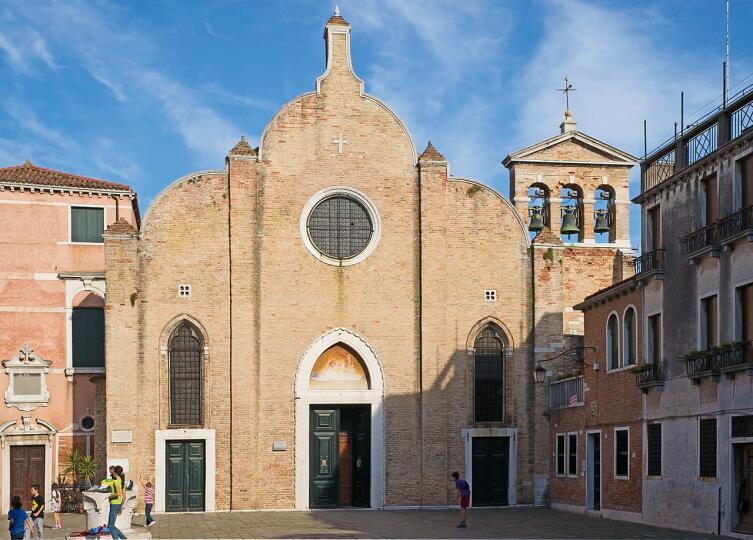 Церковь Святого Иоанна в Брагоре, где в 1678 году был крещён Антонио Вивальди