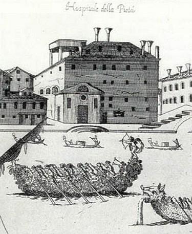Консерватория для девочек-сирот «Пиета» в Венеции