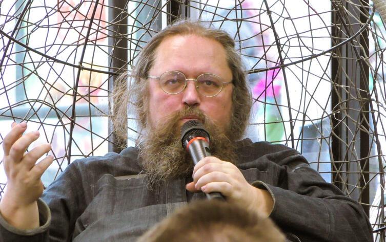 Андрей Кураев на встрече с читателями, 2017 г.