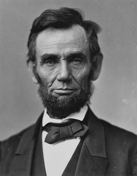 Авраам Линкольн в 1863 г.