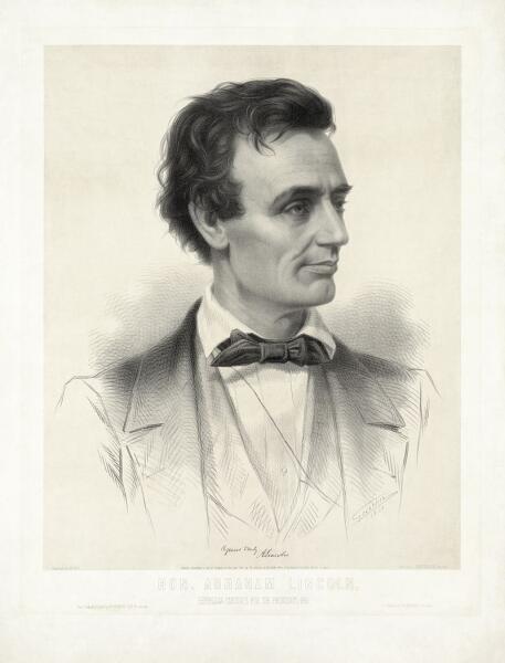 Авраам Линкольн в молодости
