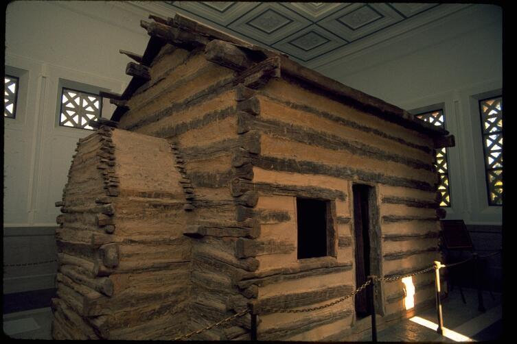 Хижина, в которой родился Линкольн