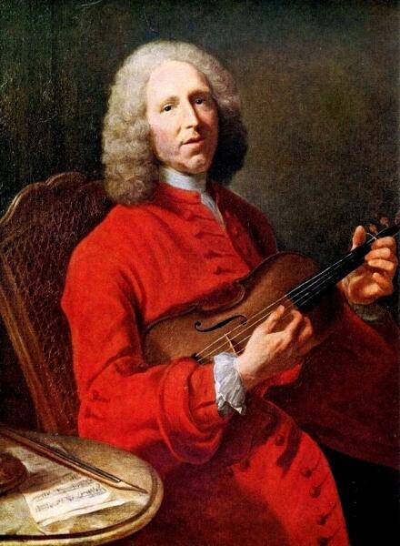 Жан-Филипп Рамо со скрипкой