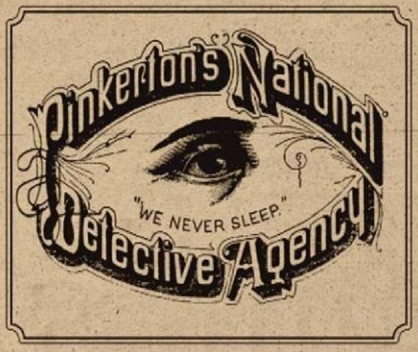 Эмблема агентства Пинкертона