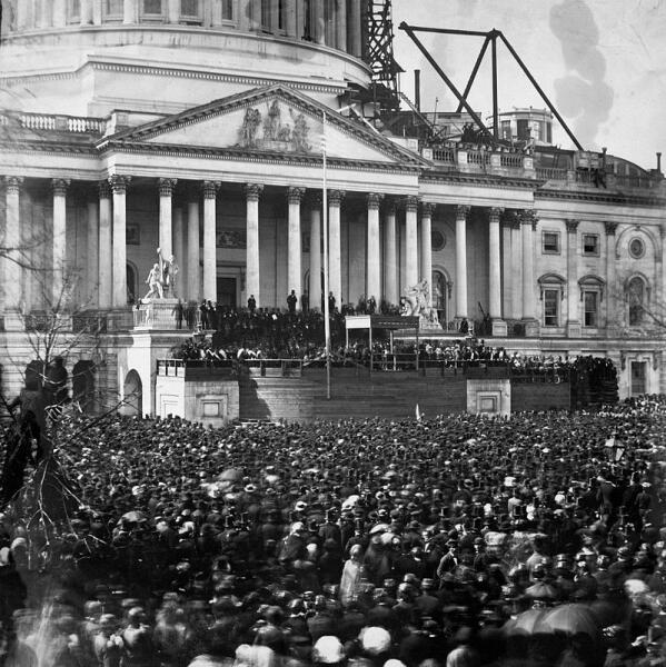Инаугурация Линкольна. 1861 г.