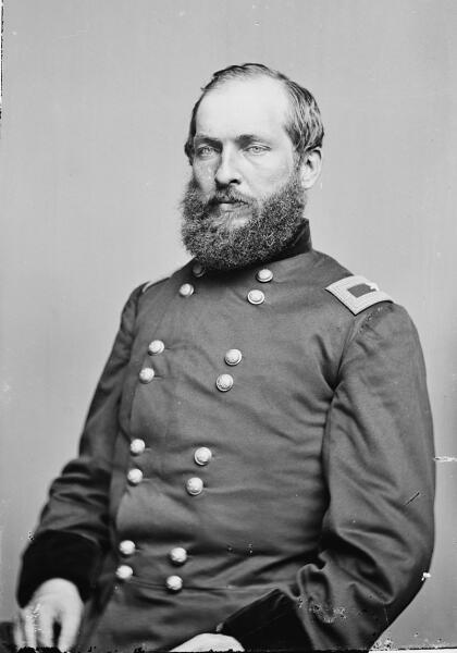 Гарфилд как бригадный генерал во время Гражданской войны