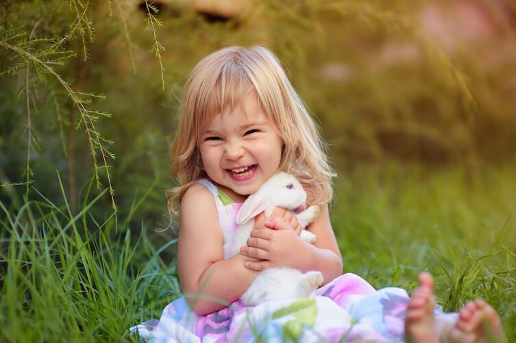 Дети-кристаллы любят природу